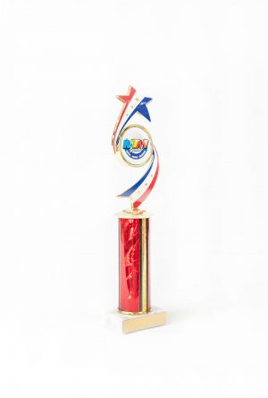 Olympic Series Round Column Trophy