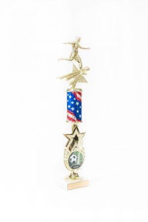 Star Series Round Column Trophy