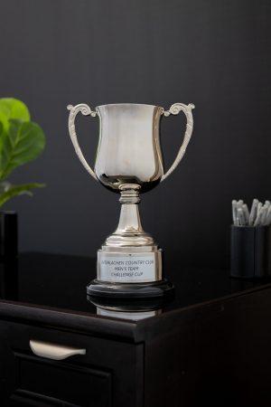 Nickel Georgina Cup on Base