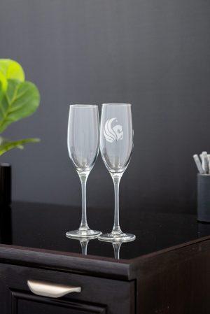 Lyrica Flute Glasses Set of 2
