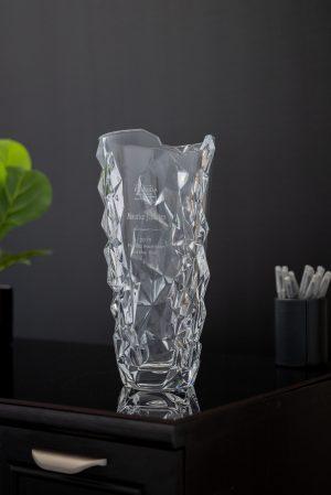 Chunky Iceberg Large Sculpture Vase