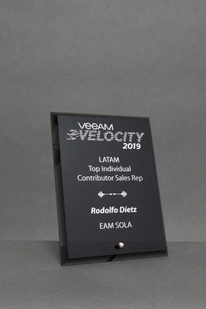 Black Glass Standing Award
