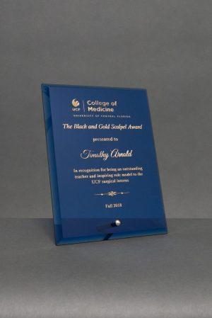 Blue Glass Standing Award