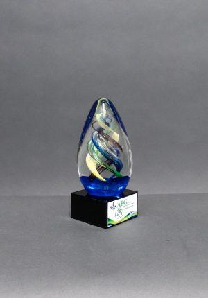 Art Glass Egg