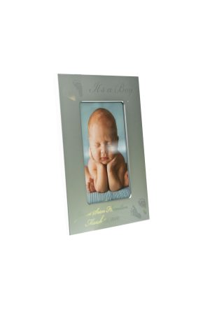 Silver Frame Holds 4″x6″