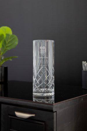 Cylinder Crystal Vase